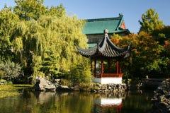 Dr. Sun Yat Sen Garden. Pagoda at Dr. SunYat Sen Garden stock photos