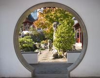 Dr. Sun Yat-Sen Gardens, Vancouver Chinatown Stock Image