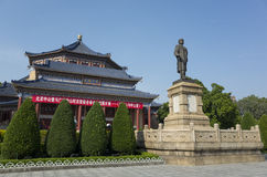 Dr. Sun Yat-sen memorial hall Royalty Free Stock Photo