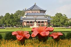 GuangZhou,Dr.Sun Yat-Sens Memorial Hall. Founder, canton. stock photo