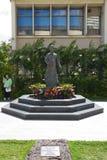 Dr. Sun Yat-sen Statue. Youth Dr. Sun Yat-sen Statue in Iolani School, Honolulu, Hawaii Royalty Free Stock Photography