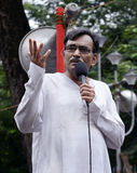 Dr. Surya Kanta Mishra bij Chit-Fondsenverzameling Stock Fotografie