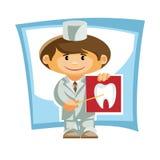 Dr tandläkare Fotografering för Bildbyråer