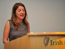 Dr. Yvonne McKenna of Volunteer Centres Ireland Royalty Free Stock Images