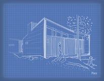 Dra en ritning Arkivbild