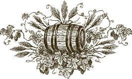 Öl royaltyfri illustrationer