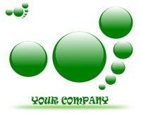Dra företagslogo stock illustrationer