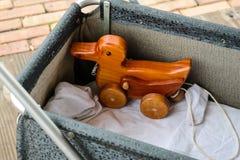 Dra leksaken Fotografering för Bildbyråer