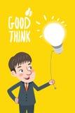 Dra plan idé för affär för teckendesign sök begreppet royaltyfri illustrationer