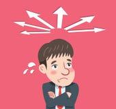 Dra plan teckendesign bestäm begreppet vektor illustrationer