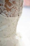 Dra tillbaka av klänningen Royaltyfria Bilder
