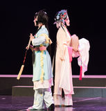 """Dra tillbaka till baksida-pionpaviljongen--jiangxi opera""""fourdrömmar av linchuan"""" Royaltyfria Bilder"""