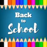Dra tillbaka till school-03 royaltyfri illustrationer
