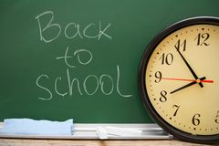 Dra tillbaka till skolan. Royaltyfri Foto