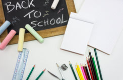 Dra tillbaka till skolan kritiserar Royaltyfria Foton