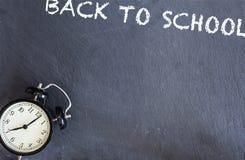 Dra tillbaka till skolan, skolatid Arkivbild