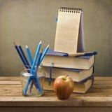 Dra tillbaka till skolar begrepp Fotografering för Bildbyråer