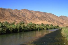 Draa River Royalty Free Stock Image