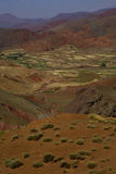 Draa Valley (Moroco) 5. Dra Valley (Atlas High Mountains) landscape Stock Images