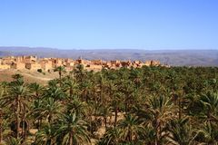 Draa Valley Royalty Free Stock Image