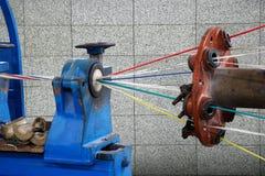 Draad en kabel productieinstallatie in Chongqing Stock Foto