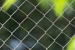 Draad Mesh Fence Stock Foto's