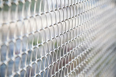 Draad Mesh Fence Royalty-vrije Stock Afbeeldingen
