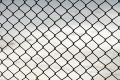 Draad Mesh Fence Royalty-vrije Stock Afbeelding