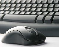 Draadloos toetsenbord Royalty-vrije Stock Afbeelding
