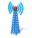 Draadloze communicatie toren Stock Foto