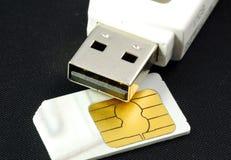 Draadloze Internet toegang en mobiel communicatiemiddel Royalty-vrije Stock Afbeeldingen
