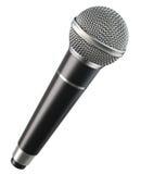 Draadloze microfoon Stock Fotografie