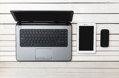 Draadloze Mobiele Apparatentechnologie Royalty-vrije Stock Afbeelding