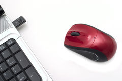 Draadloze muis Stock Fotografie