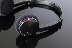 Draadloze, stereohoofdtelefoon. Stock Afbeelding