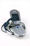Draadloze telefoon en microfoon. Royalty-vrije Stock Fotografie