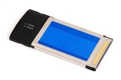 Draadloze wi-FIadapter van pcmciacardbus Stock Afbeeldingen
