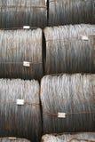 Draadmetaal met corrosie voor anker in baaien Royalty-vrije Stock Foto's