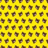 Draag - emojipatroon 06 vector illustratie