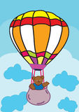 Draag en Ballon Royalty-vrije Stock Fotografie