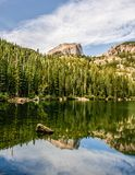 Draag Meer in Rocky Mountain National Park Colorado Stock Foto