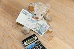 Draag met geld Stock Afbeelding