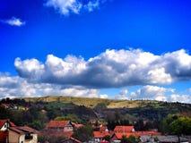 draag wolken Stock Afbeelding