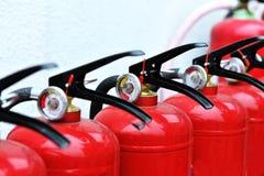 Draagbaar brandblusapparaat Royalty-vrije Stock Foto