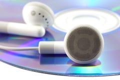 Draagbare audio. stock afbeelding
