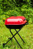Draagbare barbecue Royalty-vrije Stock Foto's