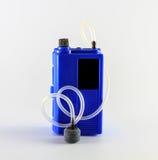Draagbare batterijpomp Royalty-vrije Stock Foto's