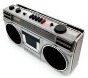draagbare de cassettespeler van de de jaren '80stijl royalty-vrije stock afbeeldingen