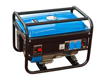 Draagbare generator stock afbeelding