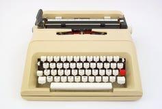 Draagbare schrijfmachine Royalty-vrije Stock Fotografie